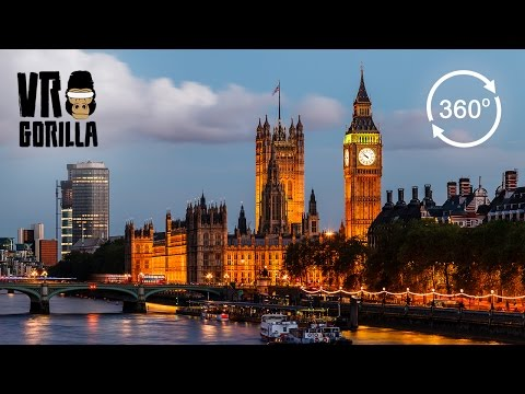 A London City Guided Tour (360 VR Video)