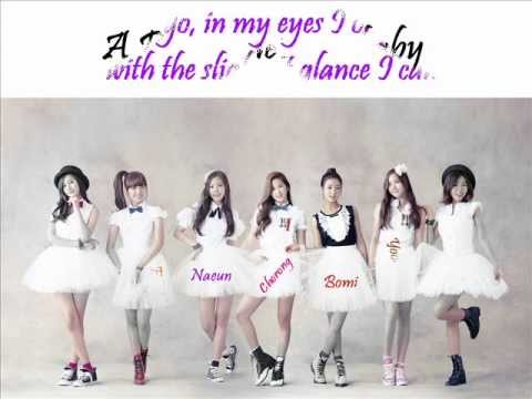 A Pink - He's my baby (+english lyrics)