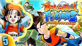LA SQUADRA GINEW CONOSCE LA FUSION A 5?!   Dragon Ball Fusions ITALIANO   Gameplay New 3DS