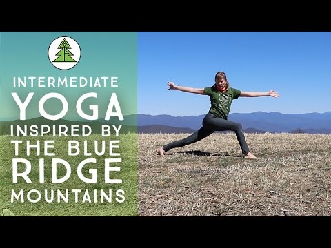 30 Minute Yoga Flow Inspired by the Blue Ridge Mountains