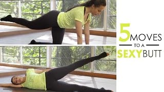 5 Easy Exercises To Shape Your Butt - Fitness With Namrata - Glamrs