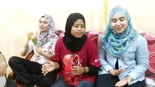 Artis Seni Boria Omara belajar Ghazal Parti di rumah Cik Putih Hashim
