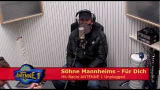 antenne 1 Unplugged: Söhne Mannheims - Für dich