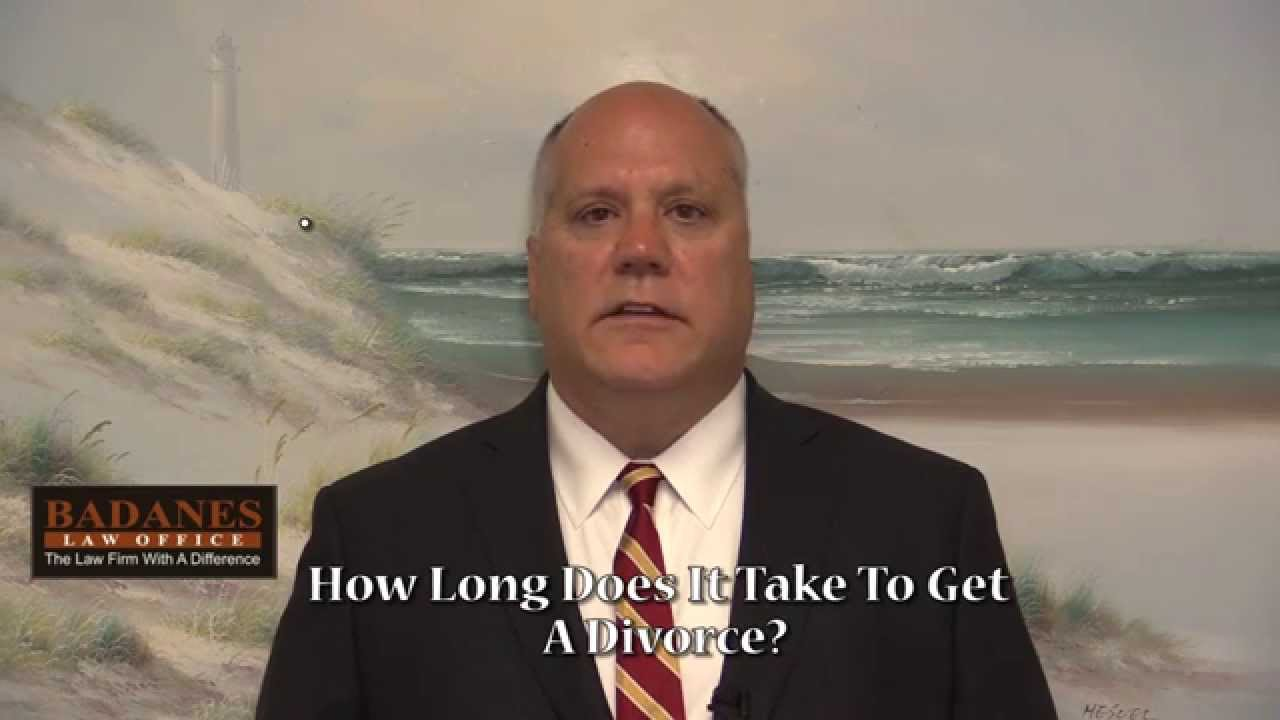 How long does a divorce take in NY?