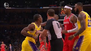 Chris Paul and Rajon Rondo FIGHT! PUNCHES THROWN!