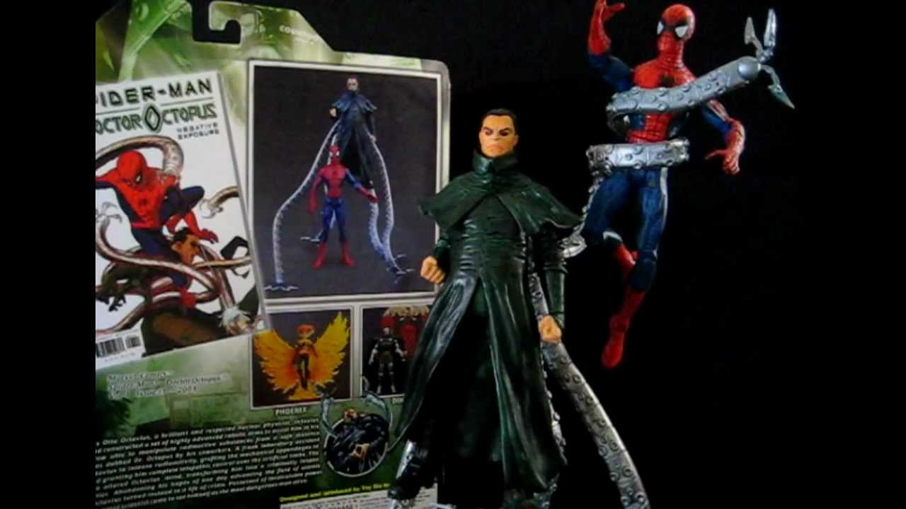 Marvel Select Action Figure Spider Man Vs Doctor Octopus
