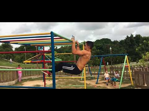 15 years old boy street workout | BEAST