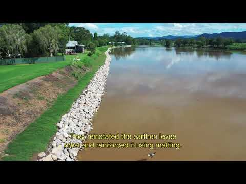Levee protection restored for South Murwillumbah