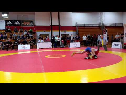 2015 Canada Cup: 61 kg Michael Asselstine (CAN) vs. Elvir Uzunovic (CAN)