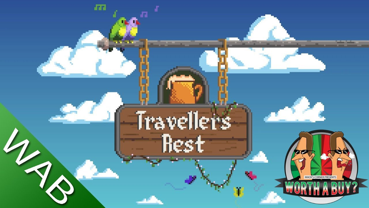 Travellers Rest Review (early access) - Manage your own inn (Video Game Video Review)
