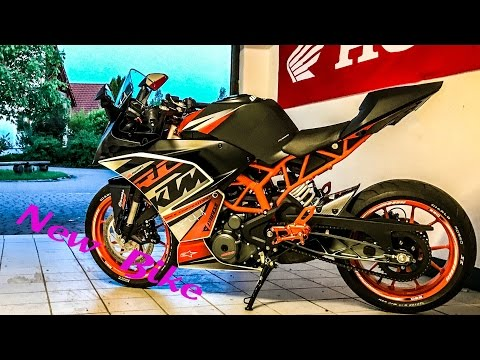 My New Bike [KTM RC 390]