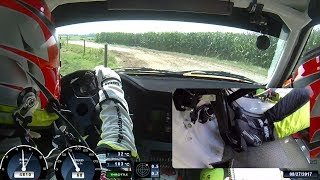ONBOARD Short Rally Kasterlee 2017 BMW M3 E30 by Mats vd Brand & Eddy Smeets