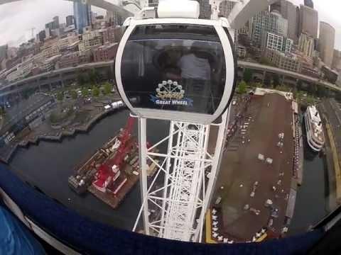 The Great Wheel (Ferris Wheel in Seattle) June 30, 2012