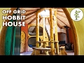 Tiny Hobbit House with Amazing Green Roof & Straw Bale Walls