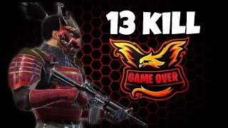 "JUGANDO DE FORMA ""AGRESIVA"" 13 KILLS CLASIFICATORIA //FREE FIRE"