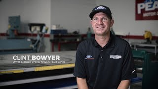 Clint Bowyer talks about his dirt racing roots, his late model team, and iRacing