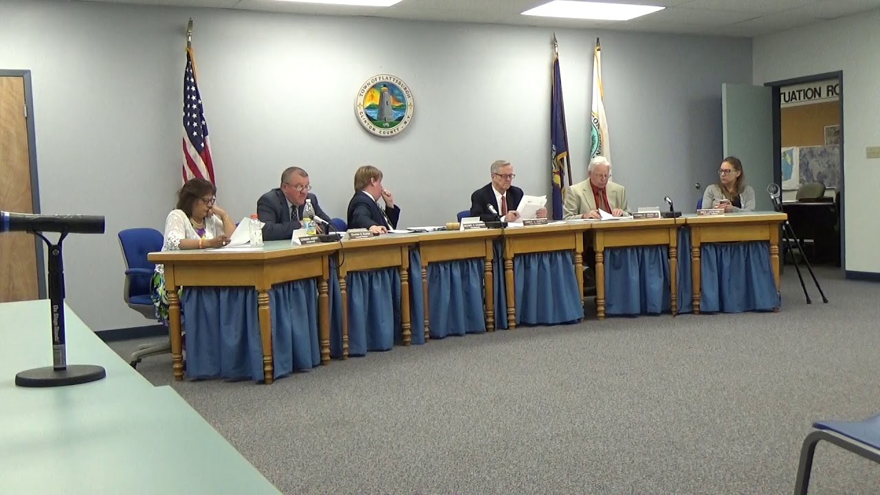 Town of Plattsburgh Meeting  6-20-19