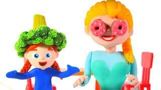 Kids Having Fun At The Supermarket ❤ Cartoons For Kids