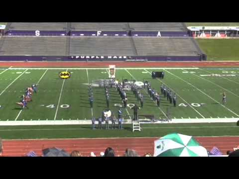 Frankston HS Marching Contest 2015