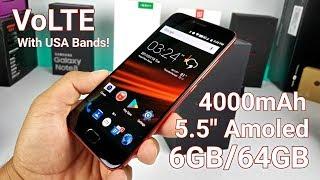 "UmiDigi Z1 Pro - USA 4G VoLTE & Internationally - 6GB/64GB - 5.5"" Amoled - Octacore!"
