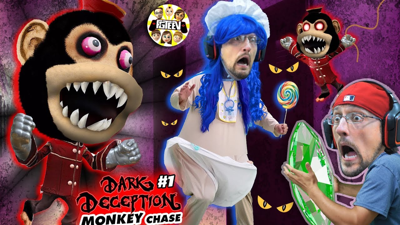 DONT STOP RUNNING!! Scary Monkey Game!