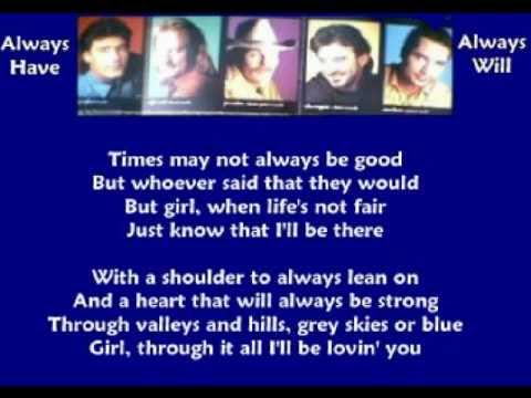 Shenandoah - Always Have Always Will ( + lyrics 1994)