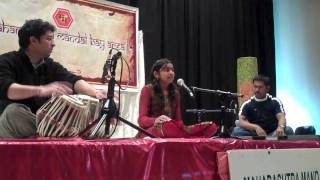 Soukhya Inamdar-Dis Char Zale Man-Chaitradhun Marathi song-Sadhana Sargam