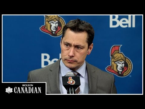 Jan 6: Sens vs. Lightning - Coach Post-game