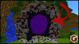 How To Make Custom Minecraft Nether Portals! thumbnail