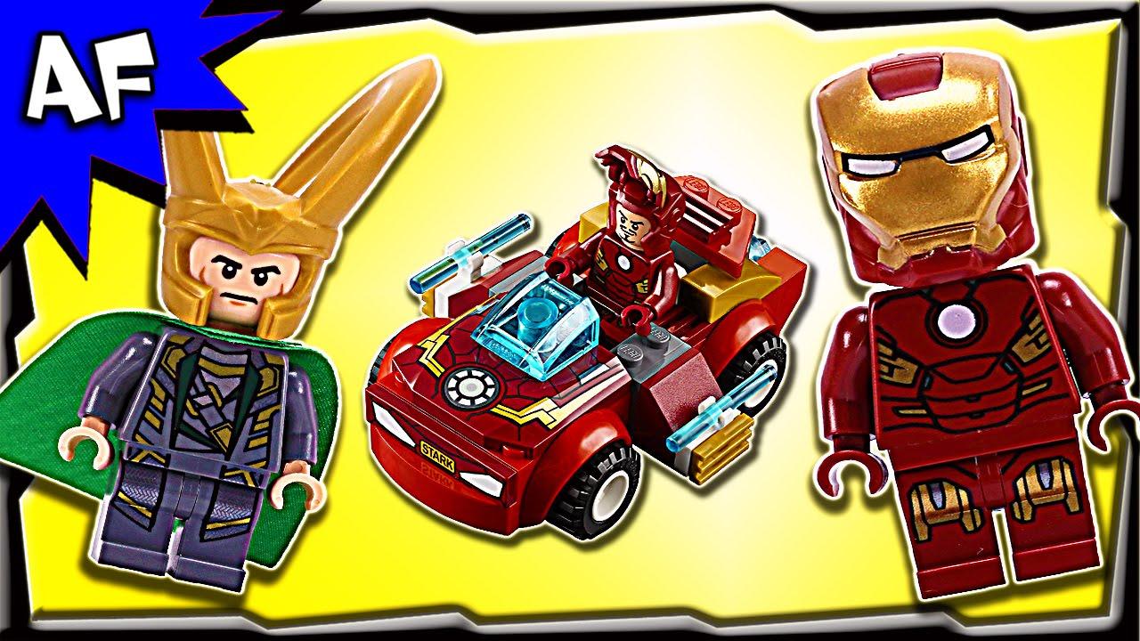 Lego Juniors Super heroes IRON MAN vs LOKI 10721 Stop Motion Build Review