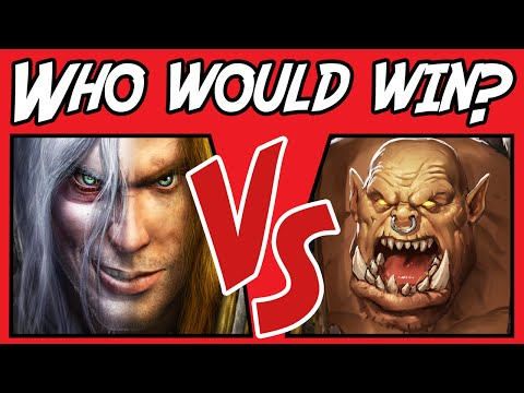 Arthas vs Garrosh - Who Would Win? - (Warcraft Versus) #4