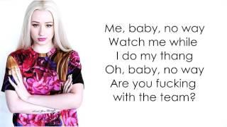 Iggy Azalea - Team (lyrics)