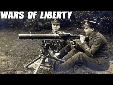 Wars of Liberty - WW1 Machine Guns and Artillery - Age of Empires 3 Mod