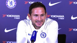 Frank Lampard Full Pre-Match Press Conference - Chelsea v Leicester - Premier League