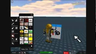 How to make a model on roblox (Edit thing dosent appear)