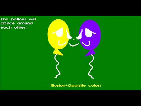 Opposite Color Illusions