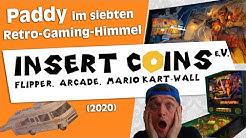 Paddy beim Insert Coins e.V. in Herne   Flipper, Arcade & Konsolen
