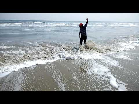 Marine beach in chennai......
