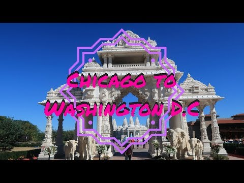 DRIVING CHICAGO TO WASHINGTON D.C | USA TRAVEL VLOG