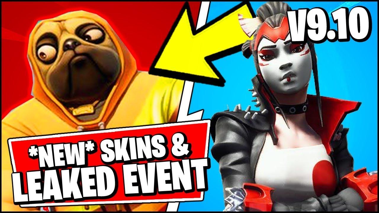 *NEW* ALL Fortnite V9.10 LEAKED Skins & EVENT