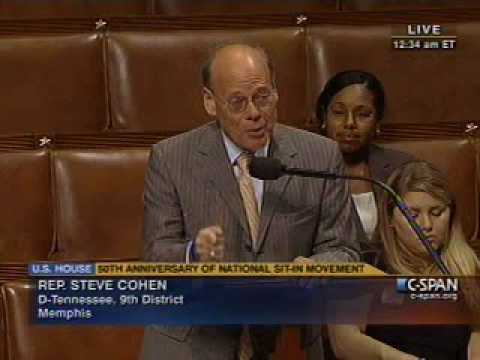 Cohen Honors 50th Anniversary of SNCC