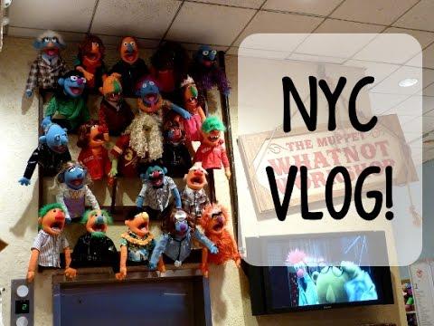 MAKING A MUPPET- NYC VLOG
