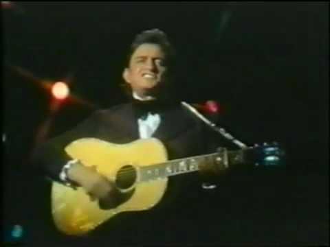 Johnny Cash sings