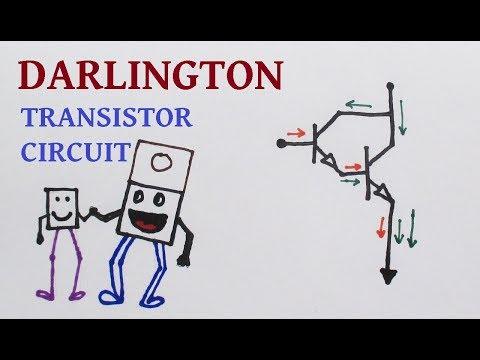 Understanding Darlington transistor circuit characteristics with demos
