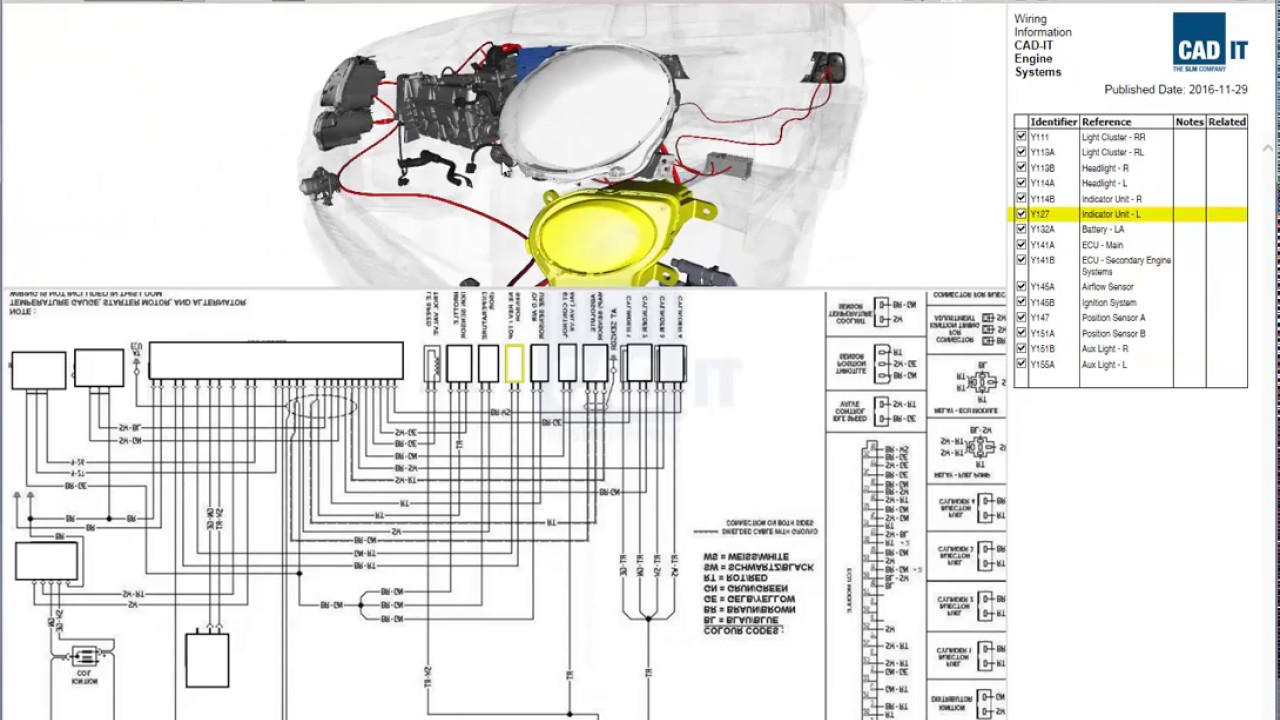 Automotive Wiring Diagram on