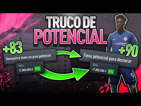 TRUCO para SUBIR EL POTENCIAL al MAXIMO de UN JUGADOR en MODO CARRERA FIFA 20!! | Truco/Glitch