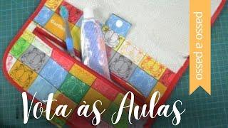 DIY: Toalha Estojo de Higiene Bucal – By Fê Atelier