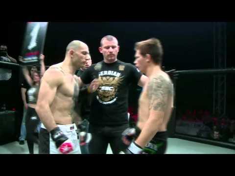 SBC 8 - Damir Dado Mihajlović vs. Raymond Jarman - Title fight - SERBIAN BATTLE CHAMPIONSHIP 8