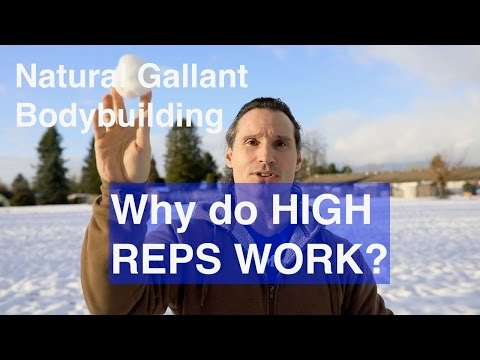 Why Do HIGH REPS Work To Build Muscle?