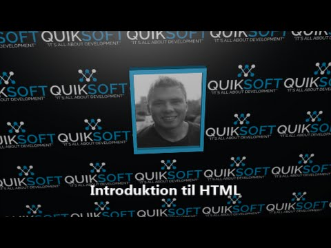 HTML For Begyndere - Kapitel 1 - Introduktion Til HTML
